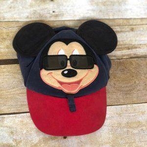 3/$25 Vintage Disney Mickey Sunglass Ball Cap